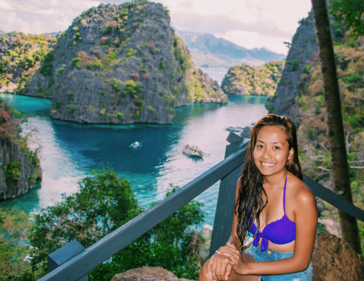 A Glimpse of Coron Island
